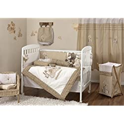 Baby Girl/ Boy Bunny And Ted 4 pc Crib Bedding Sets Crib Bedding Collection