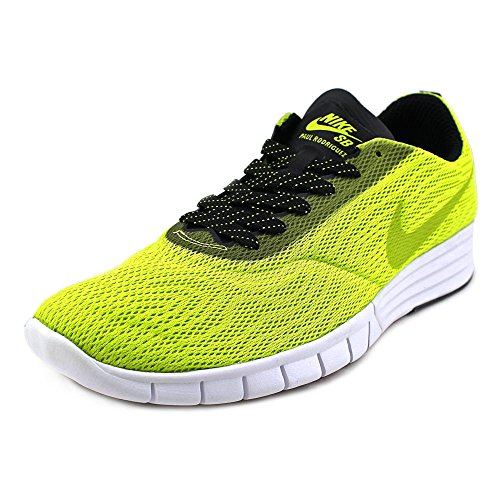 Nike Paul Rodriguez Renew Skate Shoe - Mens Cyber/Black-White, 11.0