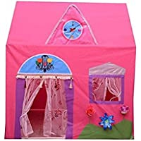 Playhood Play Tents For Kids Age Upto 6 Years - Pink (Queen Palace)