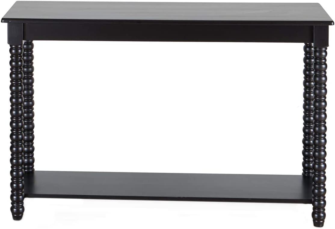 Amazon Brand – Ravenna Home Traditional Solid Pine End Table, 15.75