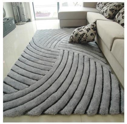 Las alfombras de hilo para las alfombras del dormitorio sala de estar 3D y alfombras Mesa baja de Alfombras área sólida...