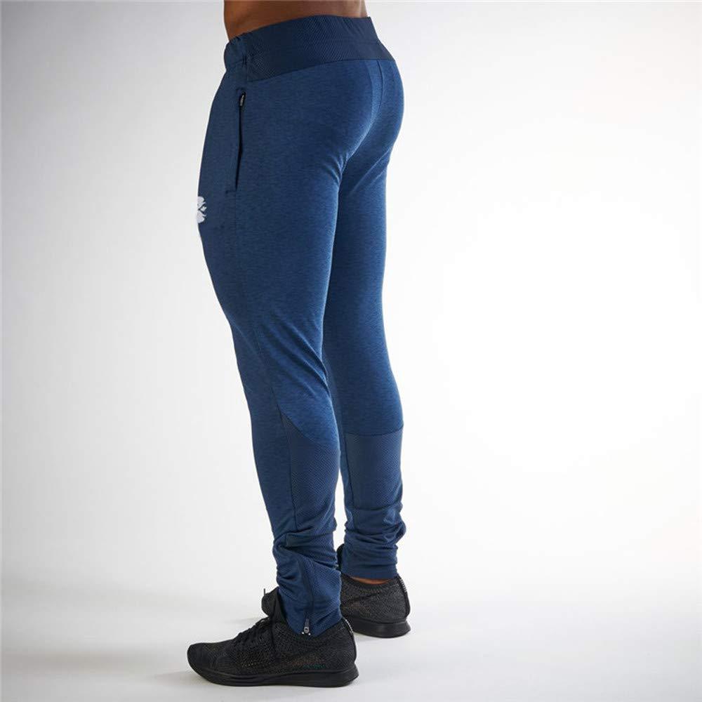Sylar Pantalones Chandals Hombre Pitillo Simple Color S/ólido Elasticidad Pantalones Deportivos Pantalones De Fitness Pantalones De Jogging M-2XL