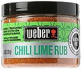 chili lime seasoning - Weber Grill Chili Lime Rub, 4.5 Ounce