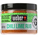 Weber Grill Chili Lime Rub, 4.5 Ounce
