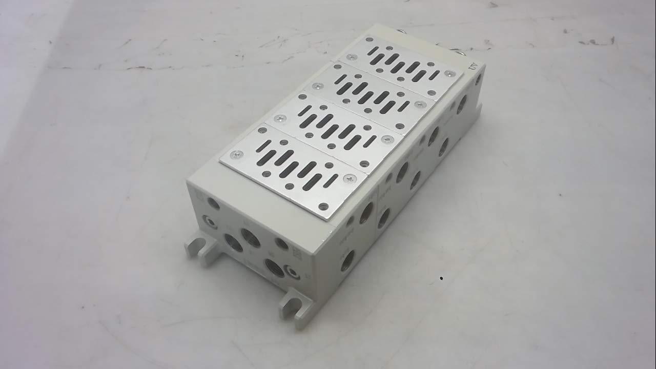 Size 1 Manifold Block Iso Vv714-03Rf-03Bf Smc Vv714-03Rf-03Bf 8 Stations
