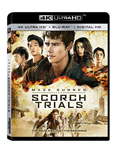 4K Blu-ray : The Maze Runner: The Scorch Trials (Digitally Mastered in HD)