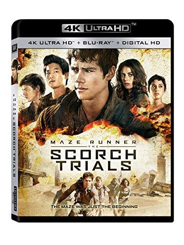 Maze Runner: The Scorch Trials (4K Ultra HD + Blu-ray + Digital HD) (Maze Runner Audio)