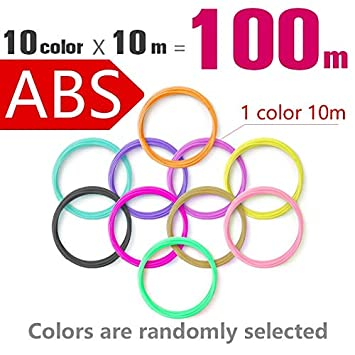 Amazon.com: W-Shufang,3D Quality Product Abs 1.75mm 20 ...