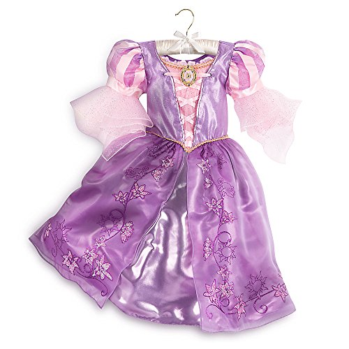 Disney Rapunzel Costume Shoes for Kids Size 9/10 Purple]()