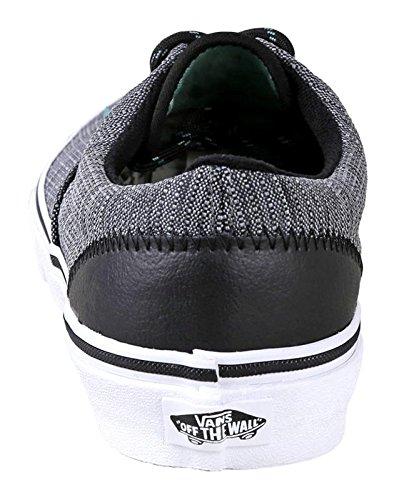 Vans Herren Ära (Suede & Suiting) Skateboard Schuhe Schwarz / Wasabi
