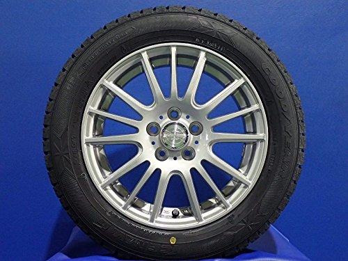 GOOD YEAR(グッドイヤー) 新型シエンタに スタッドレスタイヤ ホイール 4本セット [ 185/60R15 グッドイヤー アイスナビ6 ] [ 1560+43-5H100 ウェッズ セルザー ] (バランス調整済み 15インチ 国産 冬タイヤ ホイール 185/60-15 )【アウトレット】 B079DNGGJL