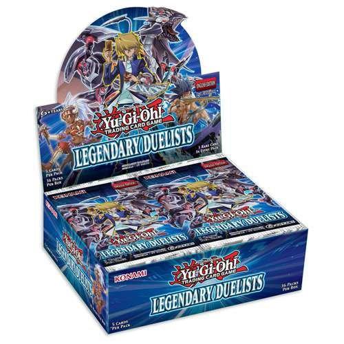 Yu Gi Oh Kon546659légendaire Duellistes Booster Box avec 36paquets