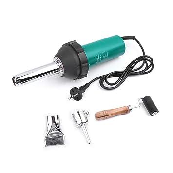Kit de pistola de soldadura de aire caliente de plástico BIGbirdyi con boquilla de punta de lápiz y punta plana y rodillo de presión: Amazon.es: Bricolaje y ...