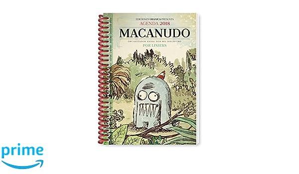 Macanudo 2018 Agenda anillada - Olga (Spanish Edition ...