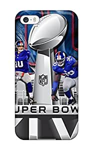 Flexible Tpu Back Case Cover For Iphone 5/5s - New York Giants