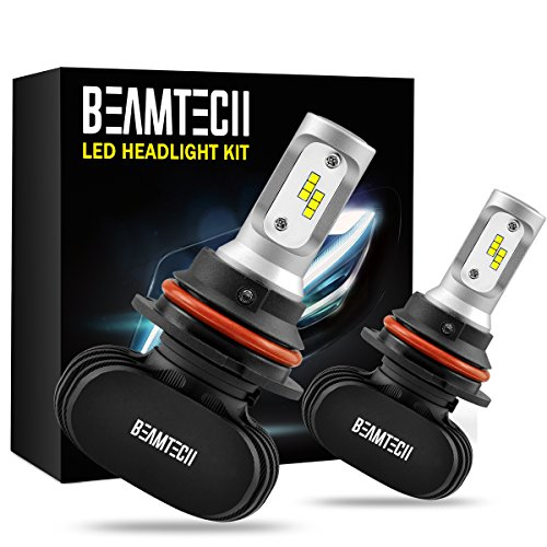BEAMTECH-9007-LED-Headlight-Bulb-50W-6500K-8000Lumens-Extremely-Brigh-CSP-Chips-Conversion-Kit