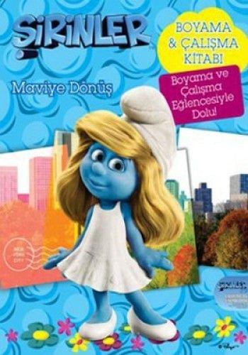 Sirinler Maviye Dönüs 3d Filmin Boyama Kitabi Amazoncouk Pierre