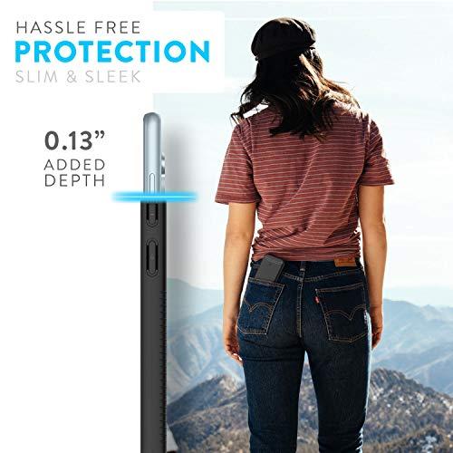 TUDIA DualShield diseñado para estuche Nokia 7.2 / estuche Nokia 6.2, [Merge] Estuche rígido delgado para teléfono con protección resistente para Nokia 7.2 / Nokia 6.2 (negro mate)