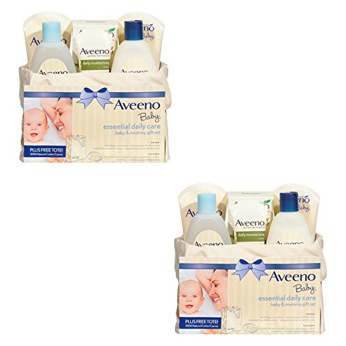 Aveeno Baby Mommy & Me Gift Set, Baby Skin Care Products (2 PACK) by Aveeno Baby Mommy & Me