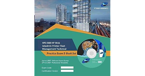 HP2-B88 HP Web Jetadmin Printer Fleet Management Technical