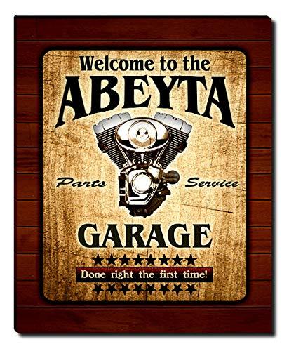 - ZuWEE Abeyta Family Garage Gallery Wrapped Canvas Print