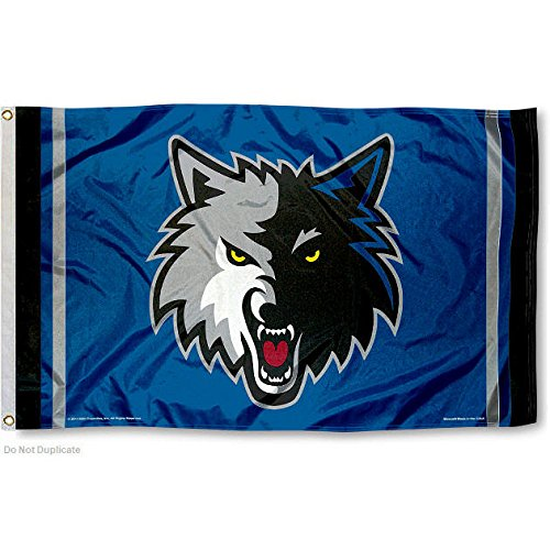 NBA Minnesota Timberwolves 3x5 Banner Flag