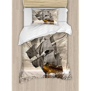 51mS9dcznaL._SS300_ 100+ Nautical Duvet Covers and Nautical Coverlets For 2020