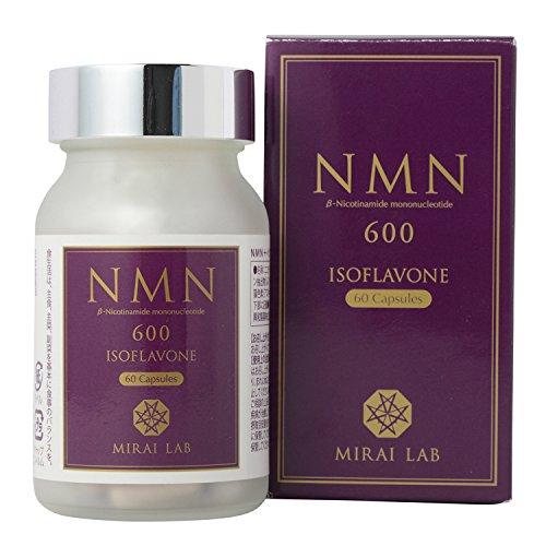 NMN β-Nicotinamide Mononucleotide+Isoflavon 60 Capusules by MIRAI LAB