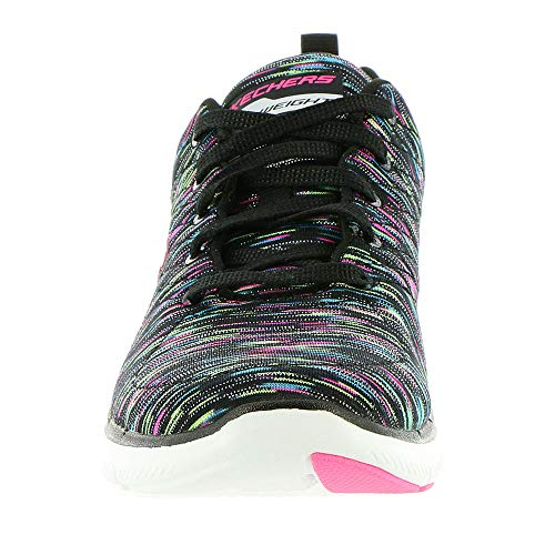 Black Skechers Femme reflection Baskets 0 Flex Multi Appeal 2 qxpnf7Oq