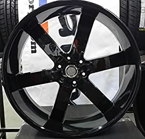 26 inch u2 55 wheels rims tire package will fit ford lincoln f 150 expedition. Black Bedroom Furniture Sets. Home Design Ideas