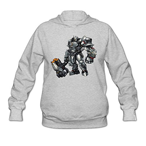 Overwatch Women's Reinhardt Hoodies Hoodie Size M - Ireland Co & Tiffany