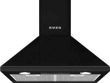 Smeg ksed65nee Campana Chimenea 60 cm B energía Negro: Amazon.es: Grandes electrodomésticos