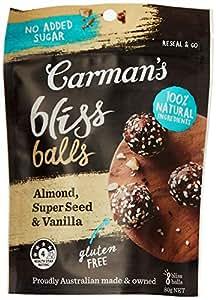 Carman's Bliss Balls Almond, Super Seed and Vanilla 80g