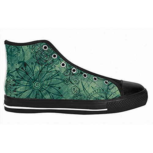 Custom kunst baum gem?lde Mens Canvas shoes Schuhe Lace-up High-top Sneakers Segeltuchschuhe Leinwand-Schuh-Turnschuhe C
