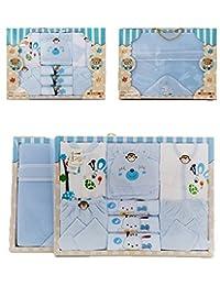 Monvecle 10-12 Piece Unisex Newborn Baby Layette Gift Set 0-3 Months