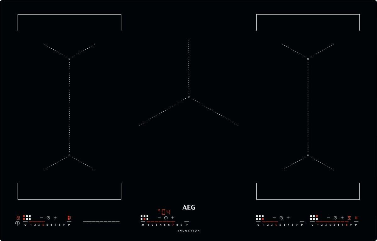 AEG Ike 85654 IB/vidrio y cerámica inducción/ras/montaje 80 ...