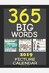365 BIG WORDS: PICTURE CALENDAR Paperback