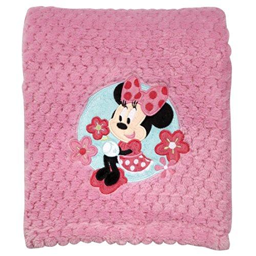 Coral Fleece Stroller Blanket (Disney Popcorn Coral Fleece Blanket,)