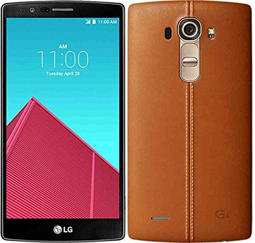 LG G4 GSM Unlocked 32GB Mobile Phone (Brown) – International Version No Warranty