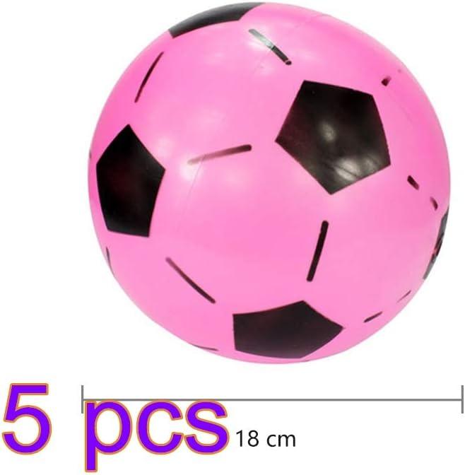 per giochi da esterno allaperto Spiaggia calcio gonfiabile in PVC ZUHANGMENG Pallone da calcio per bambini casa scuola parco palline elastiche compleanno e feste giocattolo da calcio sportivo