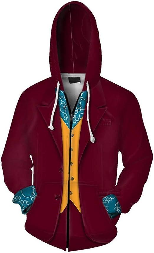 Joker 2019 Csoaplay Hoodies Men Women Long Sleeves Hooded Sweatshirt Tops coat