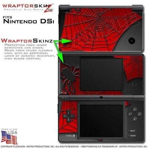 Nintendo DSi Skin Spider Web WraptorSkinz Skins (DSi NOT INCLUDED)