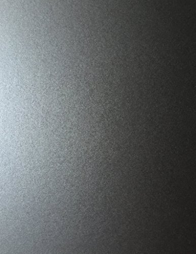 (Anthracite Grey Stardream Metallic Cardstock Paper - 8.5 X 11 inch - 105 lb. / 284 GSM Cover - 25 Sheets from Cardstock Warehouse )