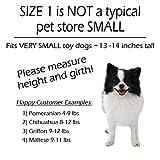 Pandaloon Panda Puppy Dog Pet Costume (Size 1 (13-14.5 in Total Height), Panda)