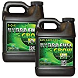 Green Planet Nutrients Hydro Fuel Grow A and B 1 Liter Bundle Pack