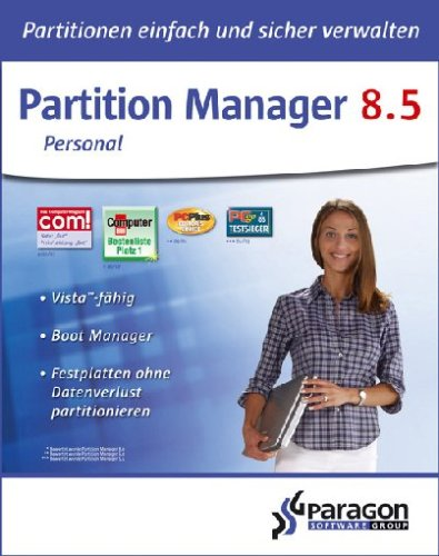 Paragon Partition Manager 8.5 Personal Edition