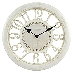 Equity by La Crosse 20857 11.5 White Floating Dial Wall Clock