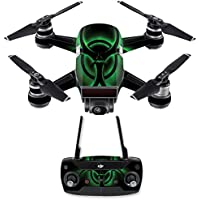Skin for DJI Spark Mini Drone Combo - Bio Glare| MightySkins Protective, Durable, and Unique Vinyl Decal wrap cover | Easy To Apply, Remove, and Change Styles | Made in the USA