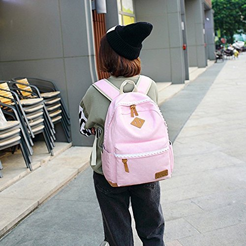 backpack LLFS Bolso para al hombro mujer Rosa vHHrqcd7UW