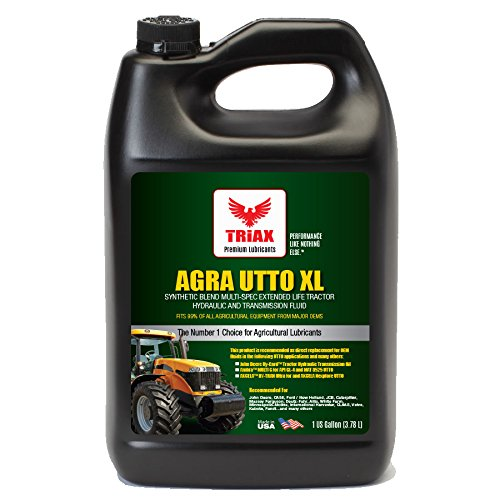 Triax Agra Utto Xl Synthetic Blend Premium Tractor Hydraulic   Transmission Oil   Extreme Performance   Replaces Most Oem Fluids  1 Gallon  Pack Of 1